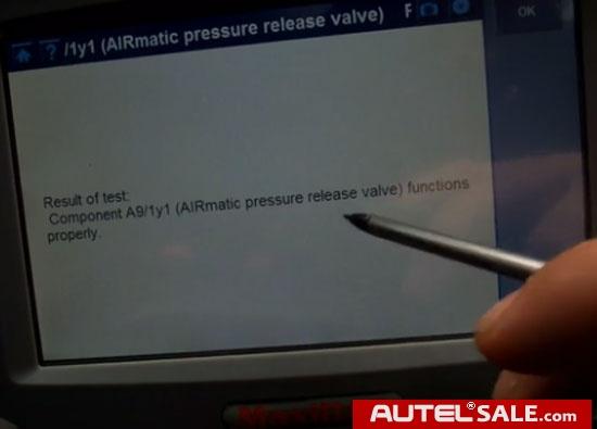 Autel-DS708-Mercedes-S430-Airmatic-Suspension-10