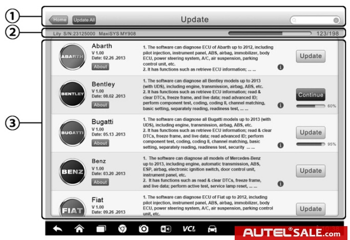 How to update Autel MaxiSys Pro MS908P software and firmware