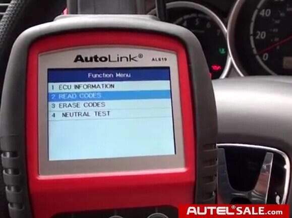 Engine ABS SRS Faults Diagnosis in Honda 2005 by AUTEL AL619-12
