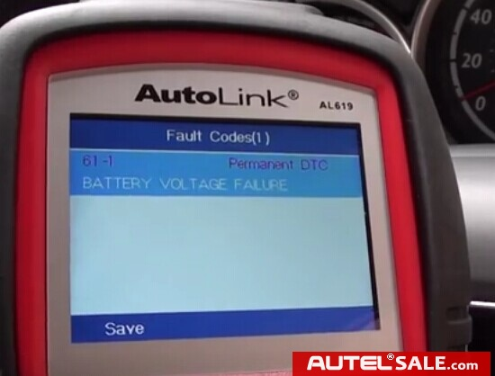 Engine ABS SRS Faults Diagnosis in Honda 2005 by AUTEL AL619-13