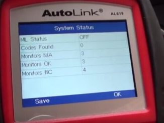 Engine ABS SRS Faults Diagnosis in Honda 2005 by AUTEL AL619-2