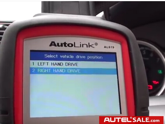 Engine ABS SRS Faults Diagnosis in Honda 2005 by AUTEL AL619-8