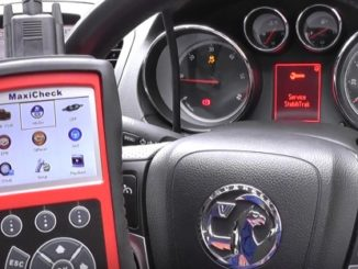 Reset ABS System on 2011 Vauxhall by Autel MaxiCheck PRO-1