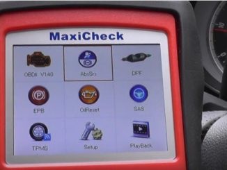 Reset ABS System on 2011 Vauxhall by Autel MaxiCheck PRO-2
