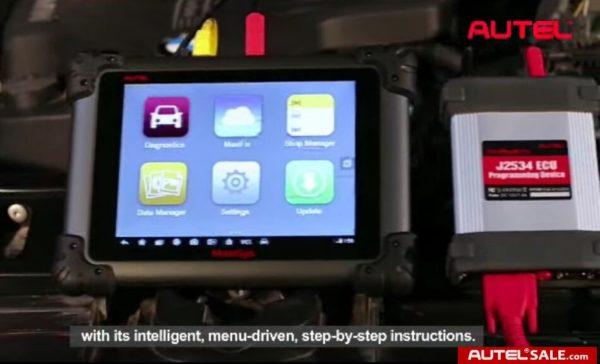 How to reprogram ECU for BMW 750li E66 with Autel MS908P