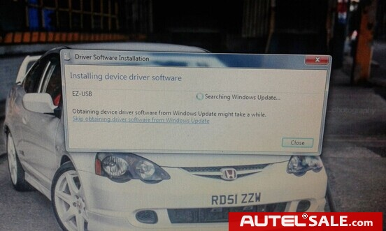installing device driver software.