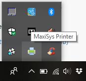 MaxiSys Printer